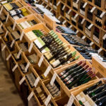 We carry a variety of wines.